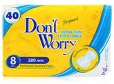 Women's Hygiene - Don't Worry - Ultra Thin Extra Large Pads