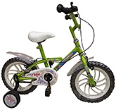 Buy Tobu Butterfly Vibrant Green Bicycle - 14 inch