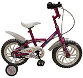 Buy Tobu Butterfly Hot Pink Bicycle - 14 inch