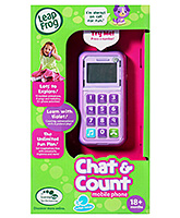 Leap Frog - Violet Chat & Count Phone 18 Months+, Fun learning in a smart little phone