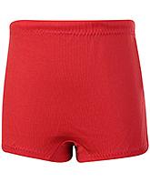 Buy Veloz Plain Swimming Trunks - Red