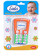 Little's Water Filled Teether - Mobile Phone Shape