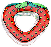 Little's - Water Filled Teether - Strawberry