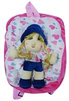 Buy Hello Toys Girl And Heart Printed Soft Bag