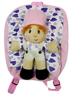 Buy Hello Toys Boy And Heart Printed Soft Bag