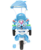 Buy Fab N Funky Musical Baby Tricycle with Push Handle - Blue