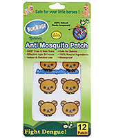 Buy Runbugz Anti Mosquito Patches Hello Bear Design - 12 Patches