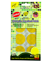 Buy Runbugz Anti Mosquito Patches Plain Yellow - 12 Patches