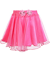 Buy Softouch Singlet Balloon Pattern Skirt - Pink
