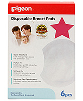 Buy Pigeon Disposable Breast Pads 6 pieces