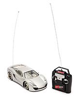 Fab N Funky Kids Remote Control Car - Silver