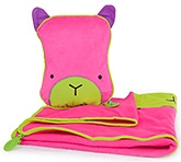 Buy Trunki SnooziHedz Travel Pillow and Blanket Betsy - Pink