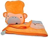 Buy Trunki SnooziHedz Travel Pillow and Blanket - Mylo the Monkey Orange