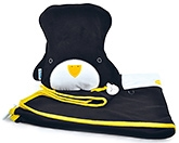 Buy Trunki SnooziHedz Travel Pillow And Blanket Pippin The Penguin - Black