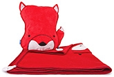 Buy Trunki SnooziHedz Travel Pillow and Blanket Felix the Fox - Red