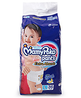Mamy Poko Extra Absorb Pant Style Diaper Large - 36 Pieces
