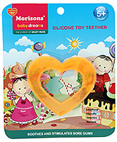 Buy Morisons Baby Dreams Silicone Teether - Heart Shape
