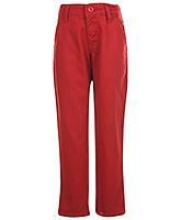 SAPS Full Length Trouser - Maroon