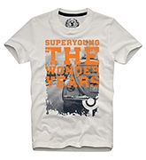 The Wonder Years T Shirts Half Sleeves OFF WHITE 9/10Y(74CM)
