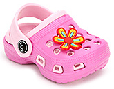 Buy Cute Walk Clogs with Flower Motif - Pink