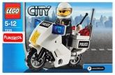 Funskool Lego - City Police Bike 5 - 12 Years, 28 Pieces, Police officer and his moto...