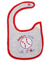 Buy Carters Baby Bibs - Baseball Print