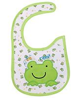 Buy Littles Baby Bibs - Frog Print