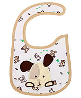 Buy Littles Baby Bibs - Dog Play Print