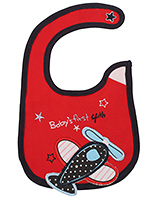 Buy Littles Baby Bibs - Airplane Print