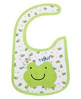 Buy Carters Baby Bibs - Frog Print