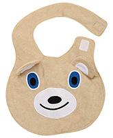 Fab N Funky Baby Bibs - Bear Face Design