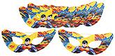 Buy Superman Paper Eye Masks - Pack Of 10