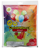 Celebrations! Rubber Play Balloon - 25 Pieces
