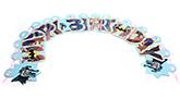 Buy Batman Paper Happy Birthday Banner - 166 cm