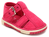 Buy Cute Walk Baby Sandals With Buckle Closure - Pink
