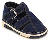 Buy Cute Walk Baby Sandals With Buckle Closure - Navy Blue