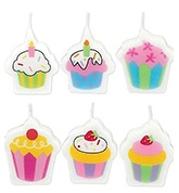 Buy Wanna Party Mini Molded Sweet Stuff Candles - 6 Pieces