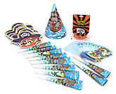 Buy Themez Only Birthday Party Kit - Pirate Themed Party Favors