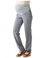 Morph Grey Formal Maternity Pant