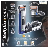 Babyliss For Men X-10 Multi Purpose Trimmer - Ref.E836XE