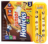 Buy Horlicks Junior Stage 2 Chocolate Flavour Refill Pack - 500 gm
