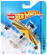 Buy Hotwheels HW City Fang Fighter - Yellow