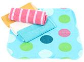 Buy Carters Multicolor Wash Cloths - Set Of 5 Pieces