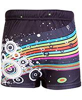 Buy Bosky Swimwear Star Print Swimming Trunk - Black