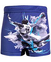 Buy Bosky Swimwear Character Print Swimming Trunk - Navy Blue