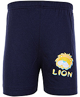 Buy Tango Bermuda Shorts Navy Blue - Lion Print