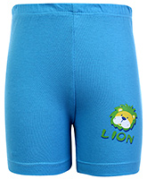 Buy Tango Bermuda Shorts Sky Blue - Lion Print