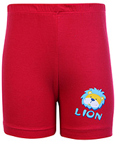 Buy Tango Bermuda Shorts Red - Lion Print