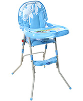Buy Fab N Funky Baby High Chair - Blue