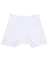 Bodycare Plain Shorts - White